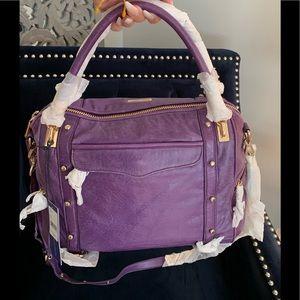 Rebecca Minkoff Cupid satchel in the color Viola